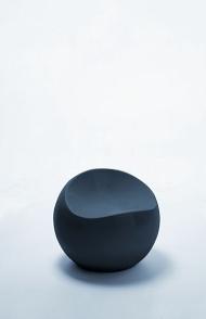 ball chair zwart