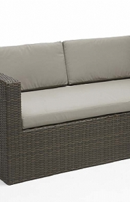 Wicker Duo taupe